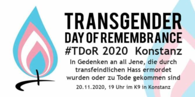 #TDoR2020 – Transsexualität in Deutschland