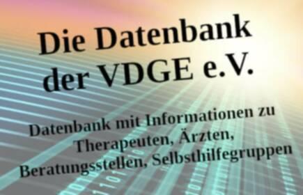 Die neue Datenbank der VDGE e.V.
