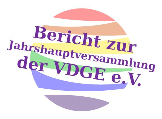 Bericht zur Jahreshauptversammlung der VDGE e.V. am 15. November 2020