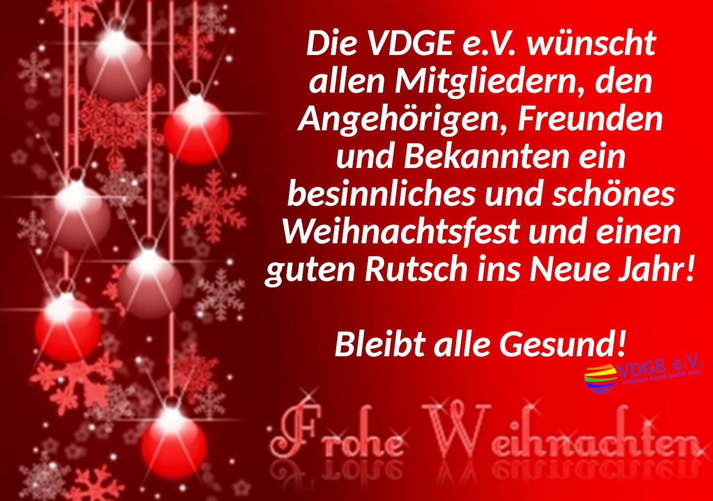 Frohe Weihnachten und einen guten Rutsch ins Neue Jahr 2021!